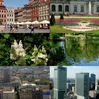 Widoki z Warszawy.