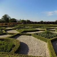 Ogród typu włoskiego.