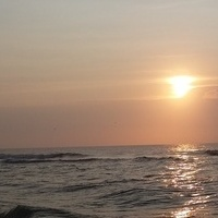 Wschód słońca w Avon