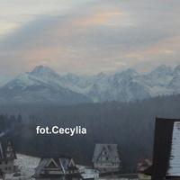 TATRY-góry są pięknie ośnieżone /zdjęcie robiłam