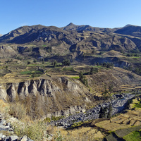kanion rzeki Colca