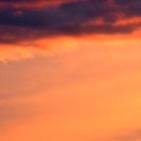 zachód słońca na moim osiedlu.
