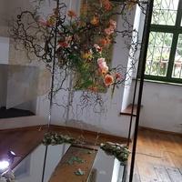 wystawy -kompozycje kwiatowe