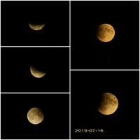 Zaćmienie księżyca lipiec 2019