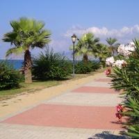 Promenada nadmorska w Turcji