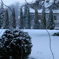 Z czasów kiedy bywały białe zimy.