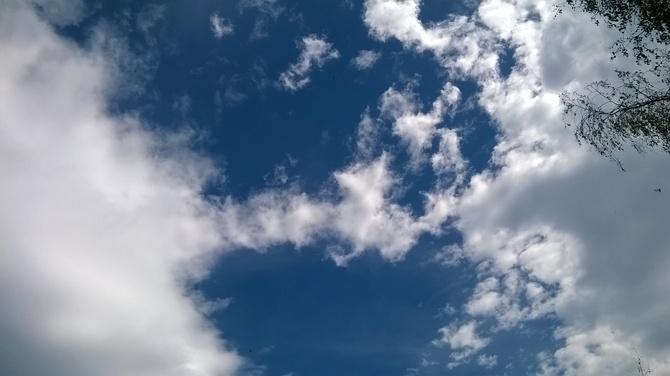Rzut okiem w .....niebo .