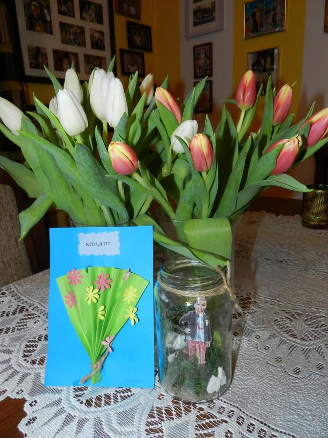 Tulipany dla Babci i Dziadka