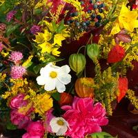 Bukiet jesiennych kwiatów