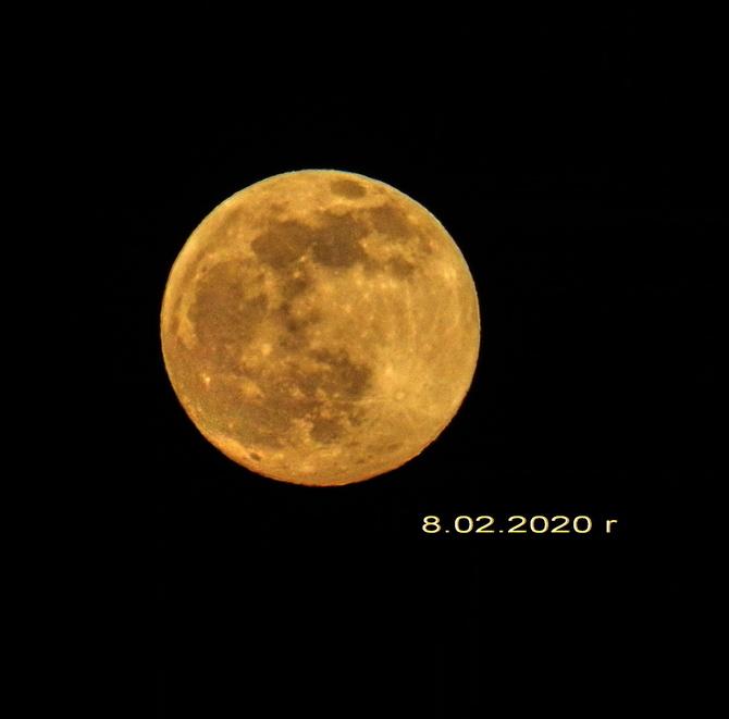 Śnieżny Księżyc luty 2020