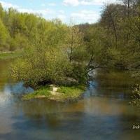 rzeka Świder na Mazowszu