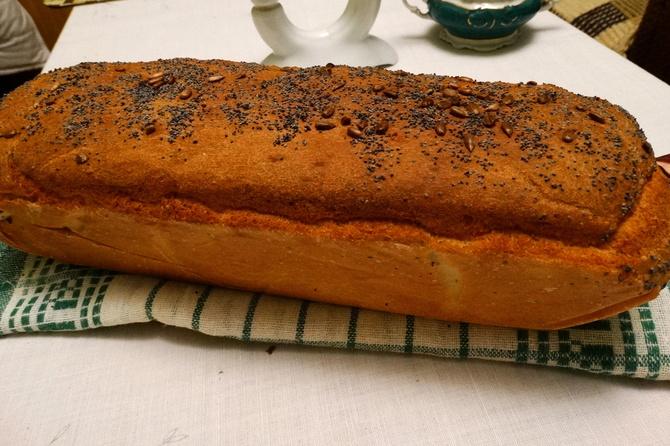Może pajdkę ciepłego chlebka ?