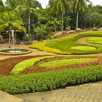 Fragment parku w Bangkoku