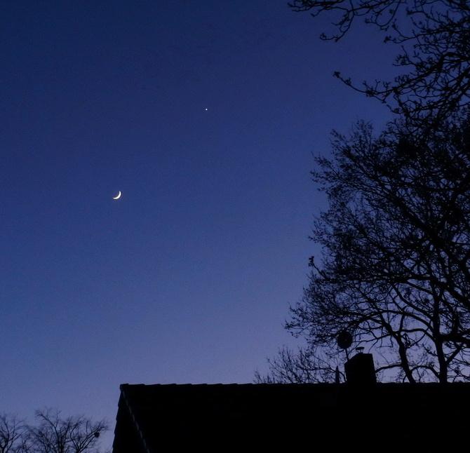 Księżyc i Wenus