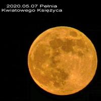 Pełnia Kwiatowego Księżyca 2020