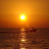 Zachód Słońca Nad
