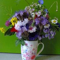 Bukiet kwiaty łąkowe