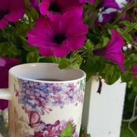 Herbatka w kwiatach.....