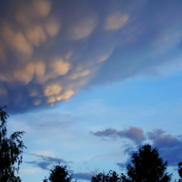 wczorajsze niebo burzowe..