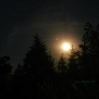 Spotkanie Księżyca z Jowiszem i Saturnem