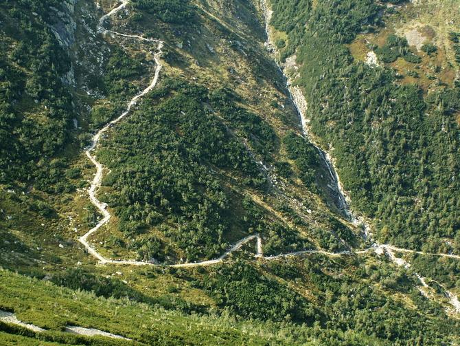 Karkonosze-szlaki turystyczne