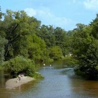 Tak przyjemnie było latem nad rzeką.