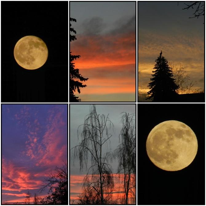 Dwie Pełnie Księżyca w Grudniu