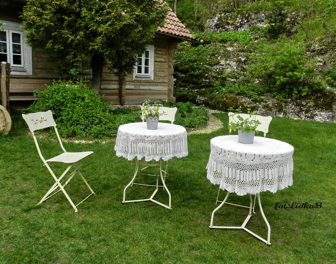 Chwila relaksu w ogrodzie