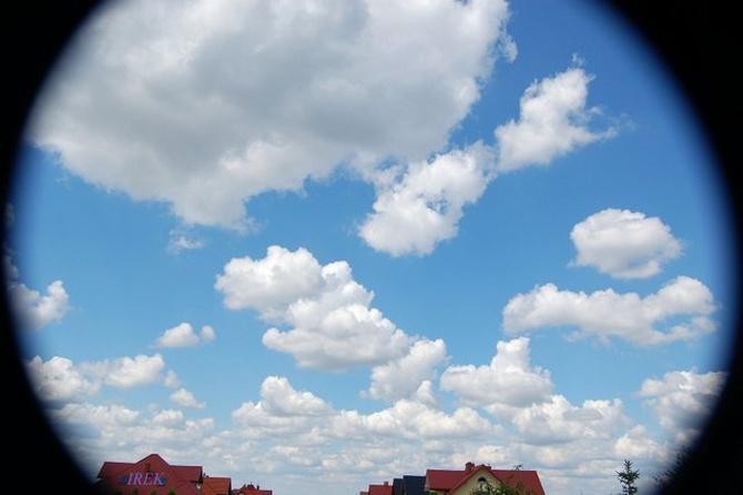 Proszę bardzo, jest niebo