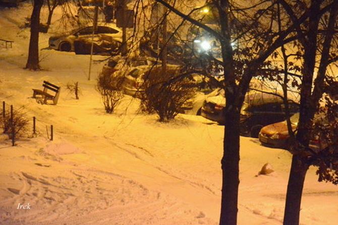 Śnieg na mojej ulicy