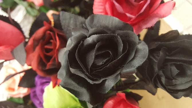 Czarna róża.....
