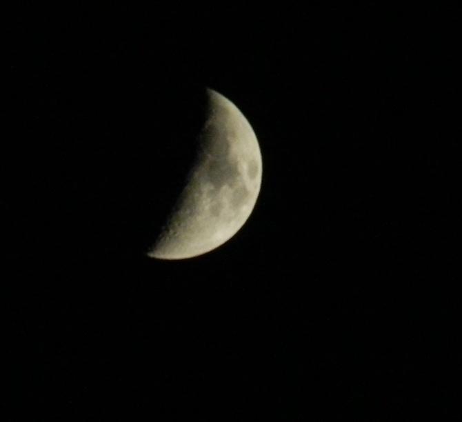 Dzisiaj na niebie taki księżyc