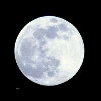 Pełnia księżyca w dniu dzisiejszym.