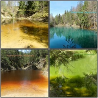 Kolorowe jeziorka,cud natury w Sudetach