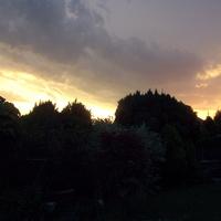 Przedwczoraj niebo straszyło...